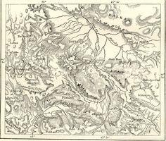 SOFIA - MOUNT VITOSH AND ENVIRONS,Bulgaria,Antique Map