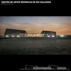 Centro de Artes Escénicas de Río Gallegos. Leé más acá: http://arqa.com/arquitectura/argentina/centro-de-artes-escenicas-de-rio-gallegos.html?utm_content=buffer6a382&utm_medium=social&utm_source=twitter.com&utm_campaign=buffer #arquitectura #architecture #Argentina