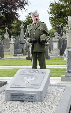 The now famous speech delivered by Padraig Pearse at the grave of Jeremiah O'Donovan Rossa on 1st August, 1915, will be re-enacted daily at 2.30pm by an actor dressed as Pearse in full uniform.