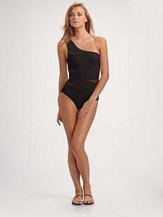 Karla Colletto Swim - One-Shoulder One-Piece Swimsuit