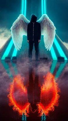 Dark Angel wallpaper HD