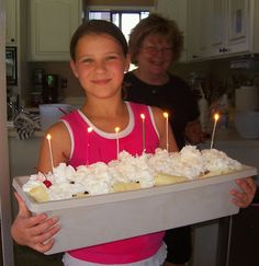 Summer Ice Cream Sundae Trough Dessert by Reluctant Entertainer ~ Perfect make-ahead summer party or birthday party idea for kids and large gatherings