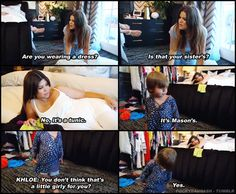 Bringing the Kardashians -- Kourtney, Kim, Khloe, Rob -- and Jenners to you, with over images to view. Funny Kardashian Moments, Kardashian Quotes, Kardashian Family, Kardashian Jenner, 90 Day Fiance, You Make Me Laugh, Scott Disick, Tv Show Quotes, Reality Tv