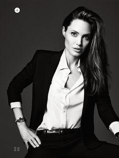 Angelina Jolie suit