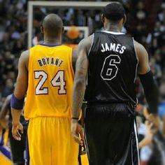 af5f817fab8 Kobe Bryant (Los Angeles Lakers) and Lebron James