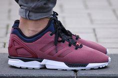 #fashion shoes #esty Adidas ZX FLUX NPS CORE BURGUNDY