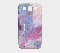 Samsung Galaxy S3 phone case,  artwork on the go, artwork printed, decorated case, Lexan plastic, slimfit, uv resistant, scratch resistant, by paperwerks on Etsy #etsy