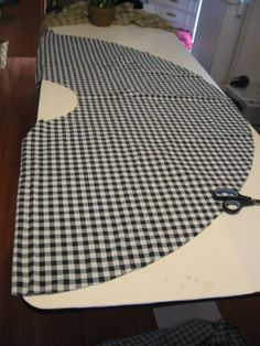 Tutorial! How to Make a Circle Skirt with No Pattern and No Side Seams! | DC's Creations