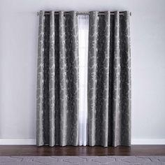 Brighton' 2-Pack Thermal Foam-Back Jacquard Grommet Panels - Curtain for $63.99