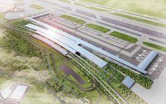 Soekarno Hatta International Airport Terminal 3 Winning Proposal / Woodhead