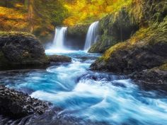Naiad's Ghost - Spirit Falls, WA by Dave Morrow on 500px