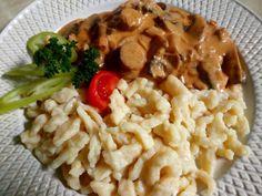 Bakonyi csirkemell | Józsi konyhája Kitchen Stories, Rage, Risotto, Meat, Chicken, Cooking, Ethnic Recipes, Food, Outfit