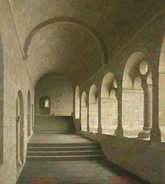 Kloostergang van Le Thoronet (Fr) Henk Helmantel.