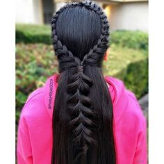 Arch Braid into Pull-through Braid