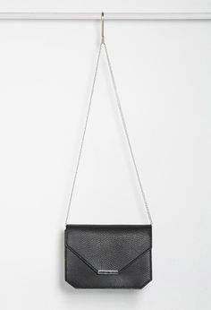 Faux Leather Envelope Crossbody | Forever 21 - 1002247316