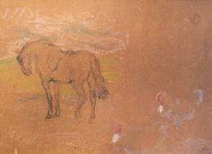 Pedro Blanes Viale (1879-1926) - Estudio de Caballo