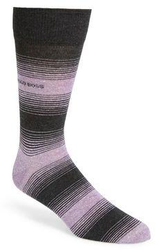 Men's BOSS Cotton Blend Socks - Grey