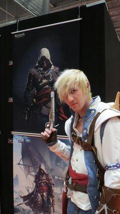 Connor as..... Connor!