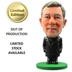 SoccerStarz Manchester United F.C. Alex Ferguson - - Rs. 499 Official #Football #Figurines from leading clubs across Europe.