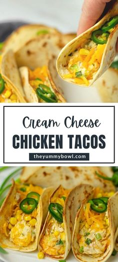 Chicken Taco Recipes, Ground Chicken Recipes, Mexican Food Recipes, Healthy Chicken Tacos, Mexican Dinners, Cooking Recipes, Healthy Recipes, Cooking Time, Dinner Dishes