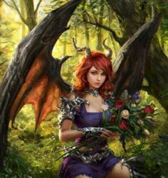Hey there. I am Serena, and i am a dragon - girl hybrid. Consider yourself lucky if you get to see me, let alone talk with me, because im usually either flying or in my cave in the forest. Speaking of flying, gotta go. See you around. Or not.