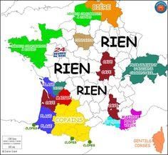 La France vue par les périgourdins