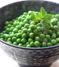 Foodista | Recipes, Cooking Tips, and Food News | Julia Child's Buttered Peas With Mint