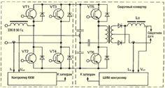 Электрическая схема подключения сварочного инвертора