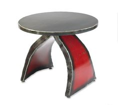 "New Work by the Gatski's, ""The Wishbone Side Table"""