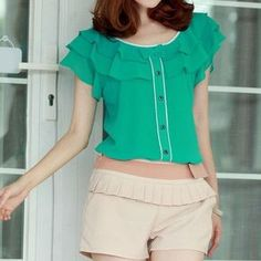 New gorgeous green dressy blouse New gorgeous dressy blouse Tops Blouses
