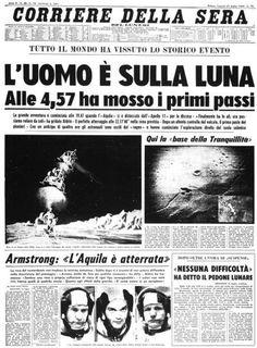 21 Luglio 1969, l'uomo compiva il suo primo passo sulla Luna, il comandante della missione Apollo 11 era Neil Armstrong.