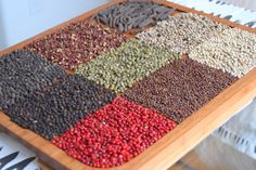 What Are The Different Kinds Of Peppercorns?