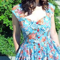 Button-Front Cambie Dress Tutorial