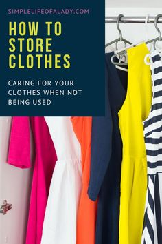 clothes storage solutions - so your clothes won't get damaged wherever you keep it Vacuum Storage Bags, Diy Storage, Storage Ideas, Dry Cleaning Bags, Clothes Storage Solutions, Moth Repellent, Storing Clothes, Bedroom Organization Diy, Plastic Bins