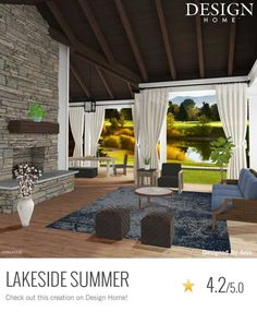 My Home Design, House Design, Gazebo, Pergola, Creation Homes, House Rooms, Outdoor Furniture, Outdoor Decor, Game Design