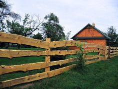 Wooden fence by Vorfay