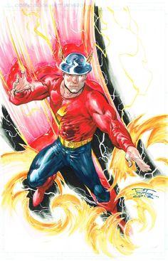 Jay Garrick (Golden Age Flash) by Philip Tan Comic Art