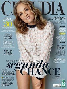 angelica : revista Claudia com Angelica na capa, mês de agosto de 2015 | amandaallaxgarci