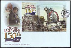 150 Jahre Großes Wasserrad der Laxey-Mine