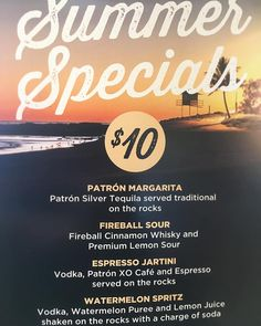 Do you fancy something a little different this summer? @rainbowbaysurfclub present our brand new #summerspecials COCKTAIL MENU  Thanks to @patron & #finestcall we have 4 new flavours of summer for you to try. What are you waiting for? #patrontequila #rainbowbaysurfclub #snapperrocks #cocktails #summer #coolangatta #goldcoast by rainbowbaysurfclub