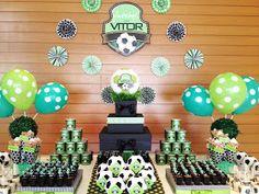 Aqui está mais uma festa realizada pela Papel de Pano com o tema Futebol! Realizar festas diferentes já é um desafio e se torna ainda mais ...