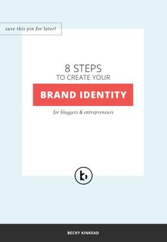 As a blogger or entrepreneur, you KNOW your brand identity design needs to make an impression-Check out the epic brand identity guide to help you get there.