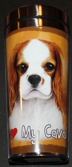 - Picture representing your dogs breed on the front and back of tumbler - Side of thermos lists traits for your favorite dog breed - BPA free - Double walled - Insulated for your hot and cold drinks -