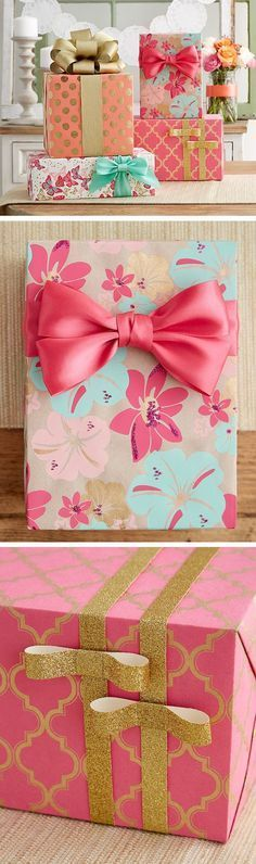 Fresh florals for spring that wont fade with our gift packaging!