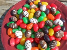 Chocolate Covered Jelly Beans 1lb about by SlipsCreativeSweets, $13.00