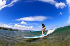 Surfing Haleiwa, #Oahu's North Shore. #gohawaii #travel