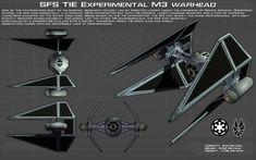 TIE Experimental M-3 Warhead ortho [New} by unusualsuspex on DeviantArt