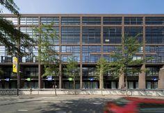 Medina Housing Complex in Eindhoven, Netherlands, 1999 - 2003, Neave Brown David Porter architects
