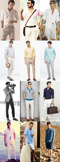 Men's Montenegro Summer Holiday Outfit Inspiration Lookbook