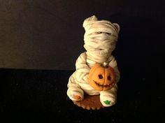 Gum paste Mummy by Sue's Sugar creations.,